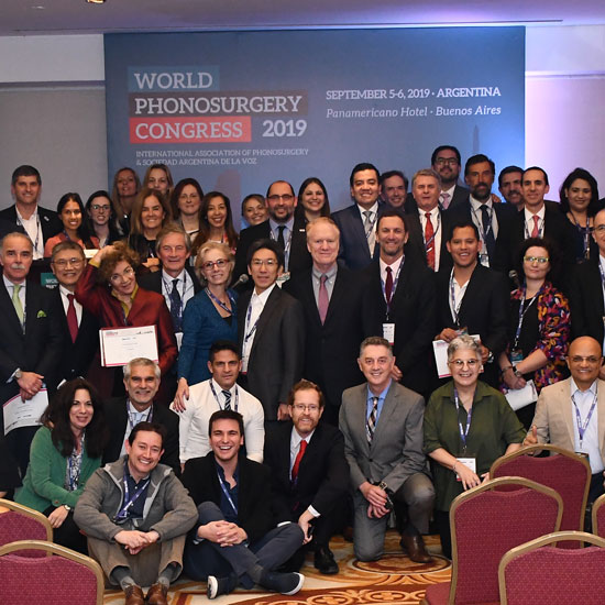 World Phonosurgery Congress